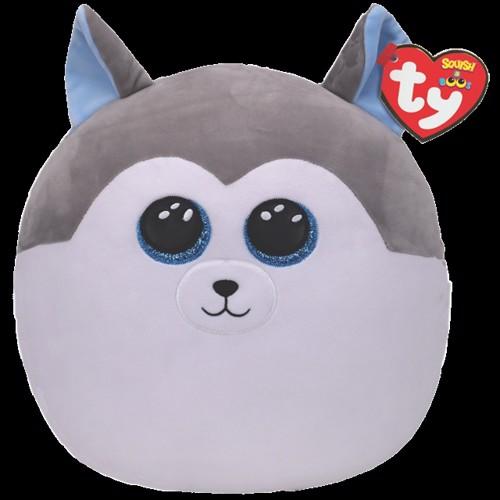 Image of Ty Plush - Squish a Boo - Slush the Husky (TY39193) (0008421391936)