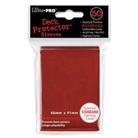 Ultra PRO  Deck Pro 50pcs  Red ULT82672 - samlelommer