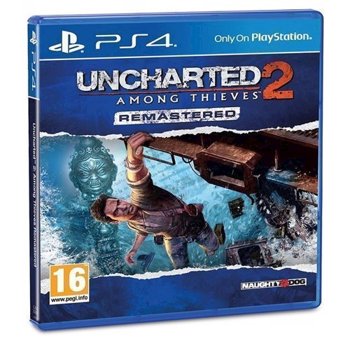Image of Uncharted 2 Among Thieves Remastered - PS4 (0711719800163)