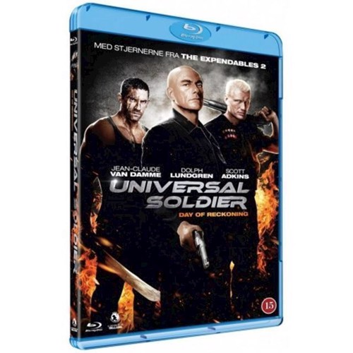 Image of Universal Soldier 4 D, blue ray (5705535046664)