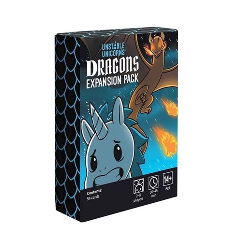 Image of   Spil, Unstable Unicorns - Dragons Expansion Pack