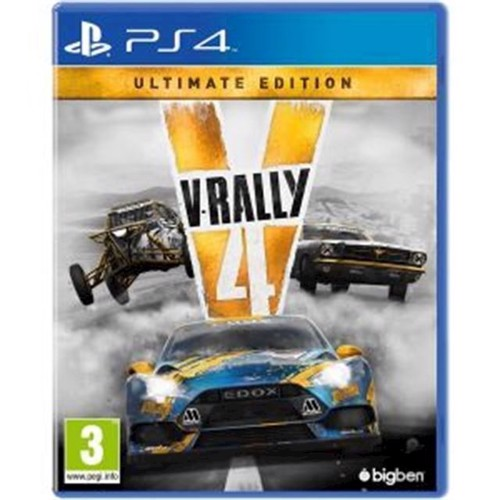 Image of V-RALLY 4 Ultimate Edition - PS4 (3499550369021)