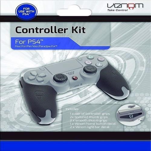 Image of Venom Dual Shock 4 Controller Grip Kit (PS4) - PS4 (5031300027997)