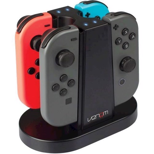 Image of Venom Switch Quad Charging Station Nintendo Switch - Nintendo Switch (5031300047964)