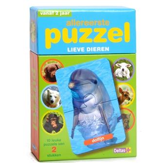 Image of Mit første puslespil med søde dyr