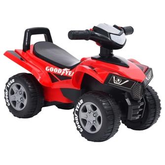 Image of vidaXL motorcykel til børn Good Year rød (8720286350577)
