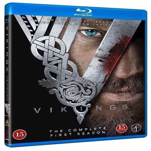 Image of Vikings Sæson 1 Blu-ray (5704028217239)