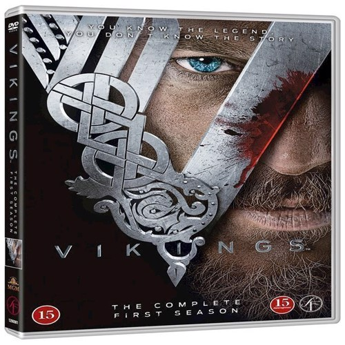 Image of Vikings Sæson 1 DVD (5706710217237)