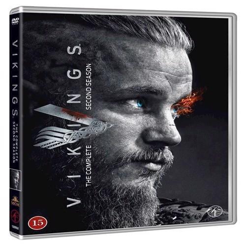 Image of Vikings Sæson 2 DVD (5706710504931)