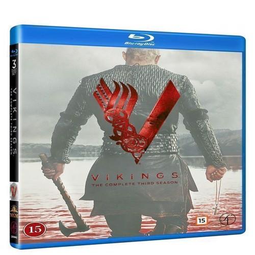 Image of Vikings Sæson 3 Blu-ray (7333018002098)