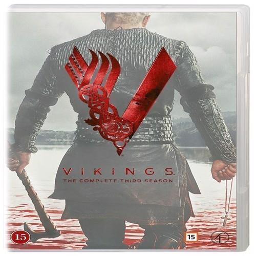 Image of Vikings Sæson 3 DVD (7333018002081)