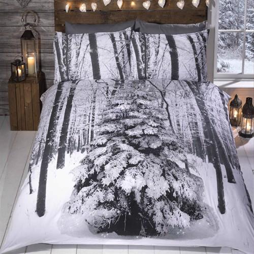 Image of Jule Sengetøj, Vinter Sparkle, Sengetøj Til Børn