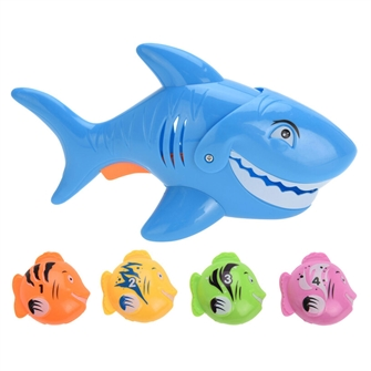 Image of Fishing game Shark with 4 Fish (8719987397172)