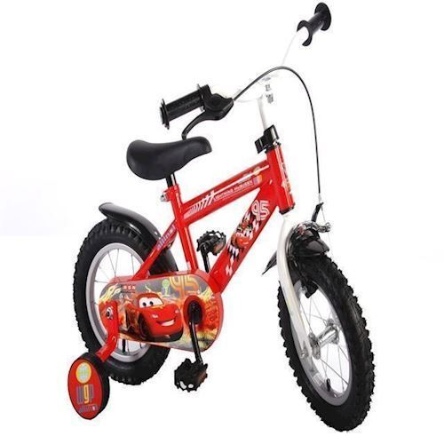 "Image of Børnecykel 12"", Volare Cars diamond frame (8715347997051)"