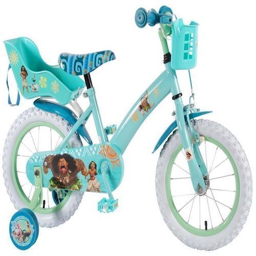 Image of   Børnecykel, Disney Vaiana, 14 tommer