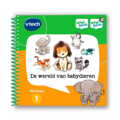 Image of V-Tech magibook en verden af baby dyr (IKKE DK TALE) (3417764600235)