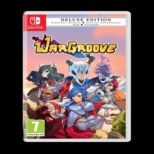 Image of War groove, deluxe edition, PS4 (5056208804709)