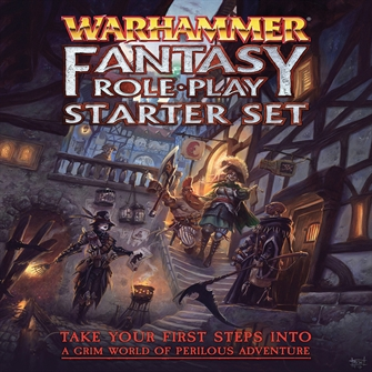 Image of Warhammer fantasy roleplay 4th edition start sæt (9780857443366)