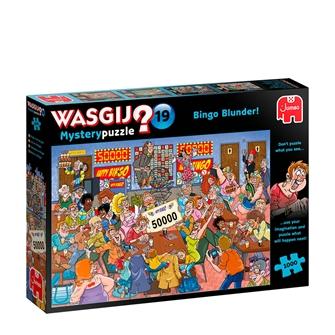 Image of Wasgij Mystery puzzle 19: Bingo Blunder (1000 pieces) (JUM9182) (8710126191828)