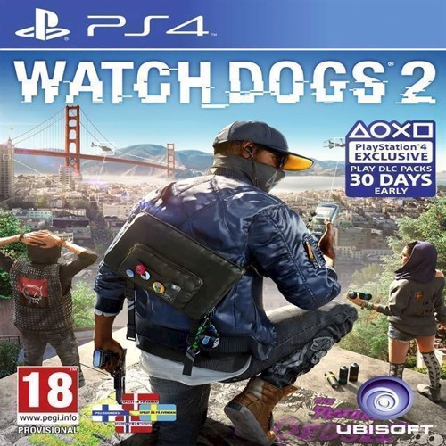 Image of Watch Dogs 2 (Nordic) - PS4 (3307215966723)