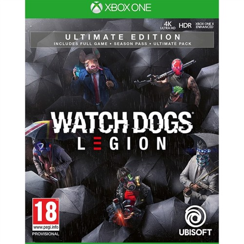 Image of Watch Dogs: Legion (Ultimate Edition) -XBOX ONE (3307216138938)