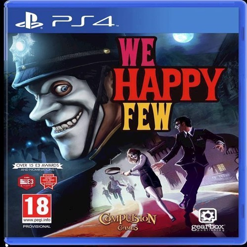 Image of We Happy Few, Ps4 (0850942007182)