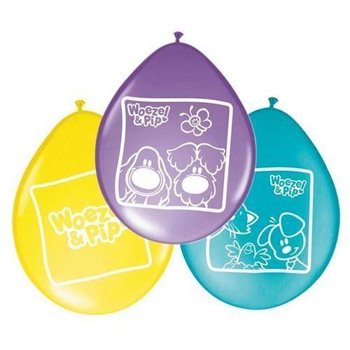 Image of Hund og Pip, balonner 8 stk