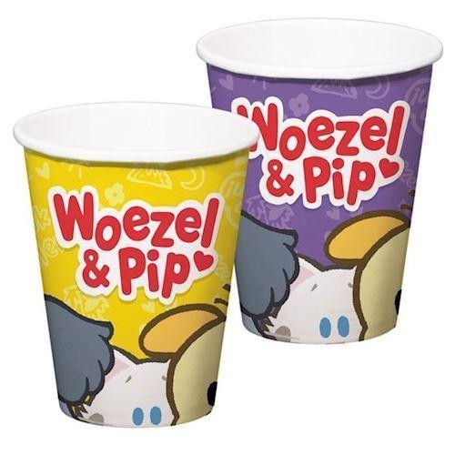Image of Hund og Pip, kopper 8 stk
