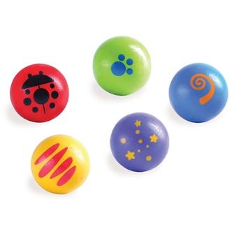 Image of Wonderworld Marble Court Balls (8851285170139)
