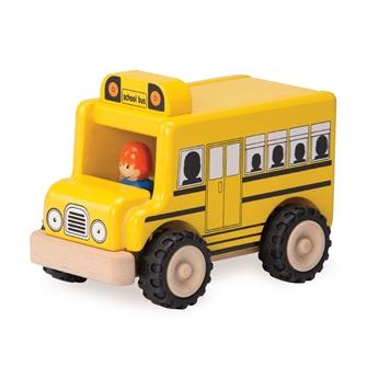 Image of Wonderworld Wooden School Bus (8851285140477)