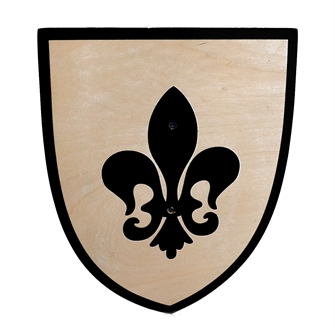 Image of Wooden Shield (8719348000437)