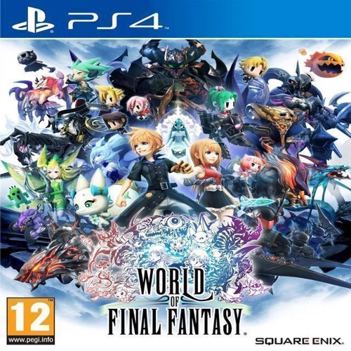 Image of World of Final Fantasy - PS4 (5021290074910)