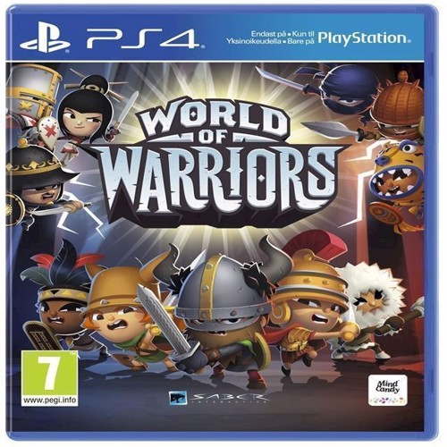 Image of World of Warriors - PS4 (0711719864356)