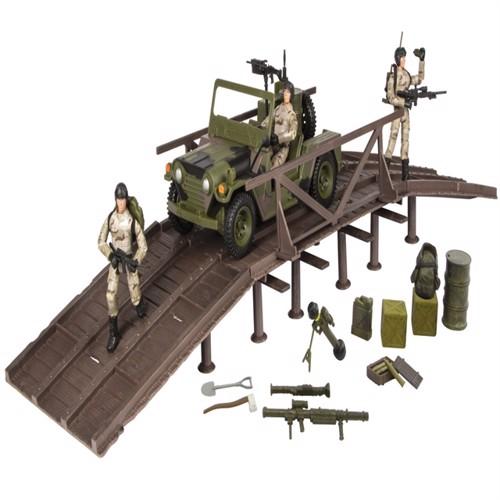 Image of Worldpeace Keepers 1:18 Ekspeditionsstyrke Inkl Køretøj 3 Actionfigurer (018859770753)