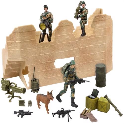 Image of Worldpeace Keepers 1:18 Militær Angrebsstyrke Inkl 3 Actionfigurer (018859770821)