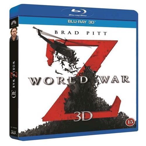 Image of World War Z 3D BluRay (7332431040670)