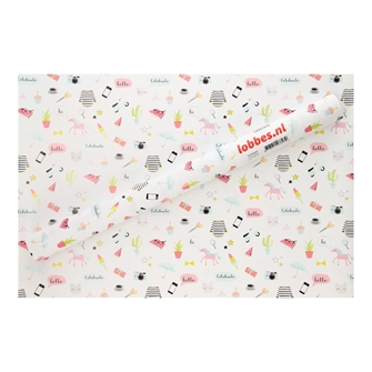 Image of Wrapping paper Cute Gifts, 3 mtr. (8718012033139)