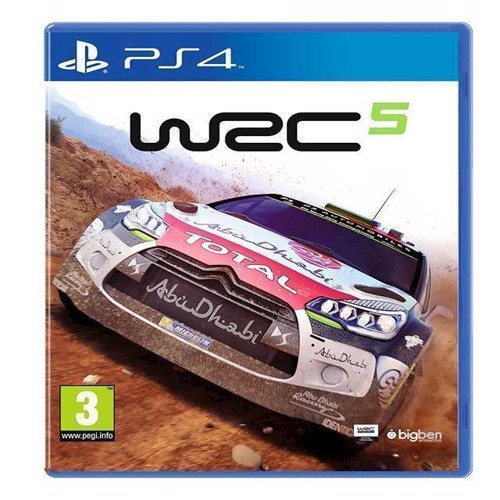 Image of WRC 5 World Rally Championship - PS4 (3499550344707)