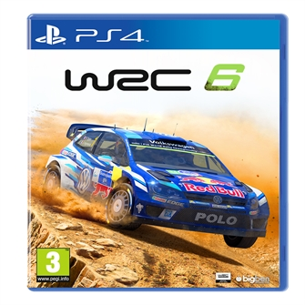 Image of WRC 6 World Rally Championship - PS4 (3499550351385)