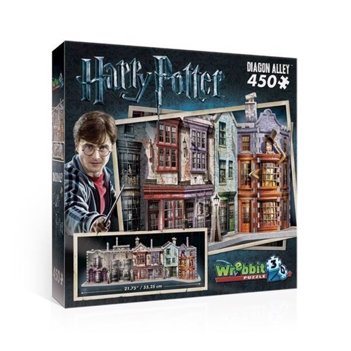 Image of   3D puslespil med Harry Potter Diagon Alley