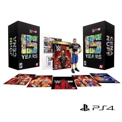 Image of WWE 2K18, Collectors Edition (5026555423687)