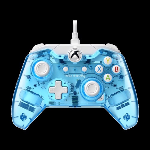 Image of Xbox One Wired Controller Rock Candy Mini Blu-Merang - Xbox One (0708056065362)