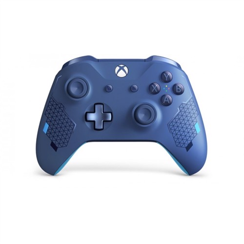 Image of Xbox One, wireless controller, sportblue special edition (0889842464849)