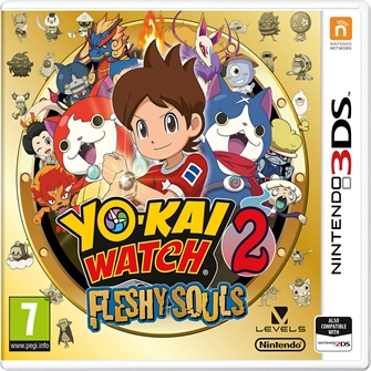 Image of YoKai Watch 2 Fleshy Souls - Nintendo 3DS (0045496474690)