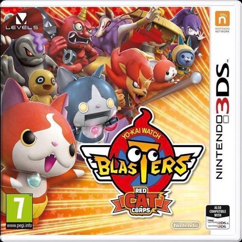 Image of YOKAI WATCH BLASTERS Red Cat Corps - Nintendo 3DS (0045496477516)