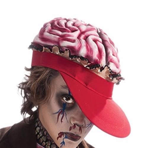 Image of Zombie Hjerne Hat til Halloween (082686302777)