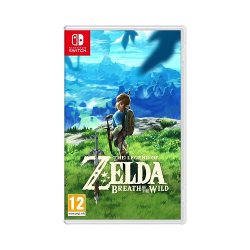 Image of The Legend Of Zelda Breath Of The Wild, Nintendo Switch (0045496420055)