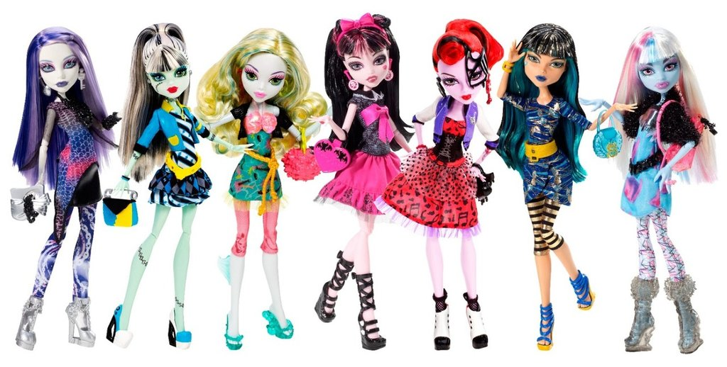 MONSTER HIGH - EVER AFTER HIGH DUKKER