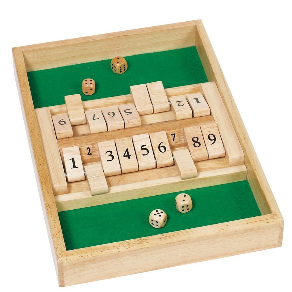 SOLITAIRE OG SHUT THE BOX