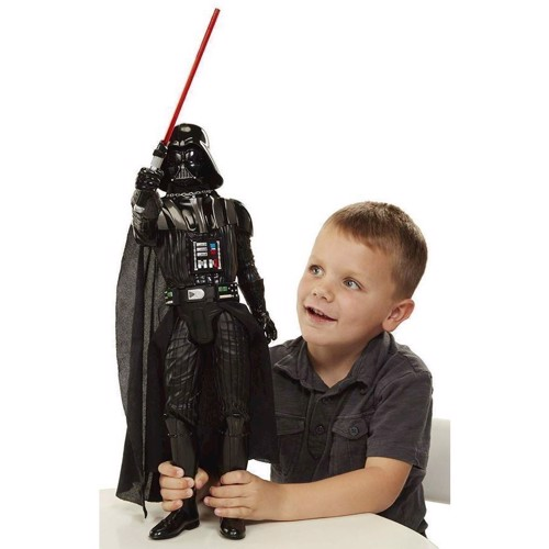Image of   Star Wars - Darth Vader figur 50cm med lys og lyd